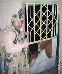 Angus Lee in Iraq