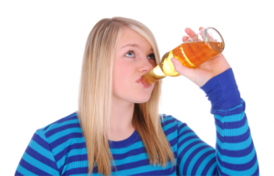 Image of Teen Drinking