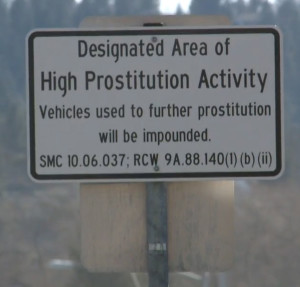 Spokane has erected signs that may turn out to be controversial.